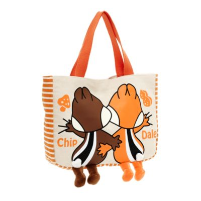 Chip 'n' Dale Canvas Small Tote Bag