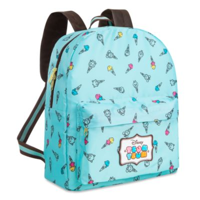 Tsum Tsum Ice Cream Backpack With Pouch