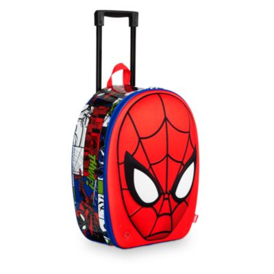 Maleta con ruedas de Spider-Man en relieve y sonido