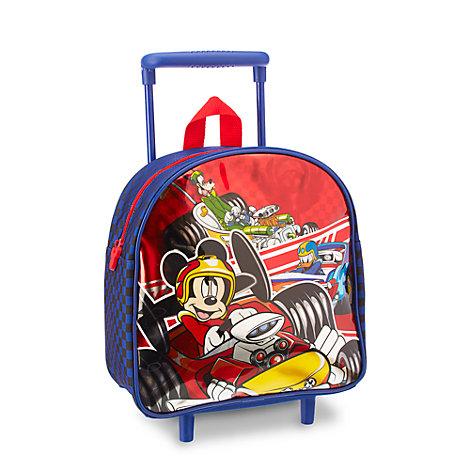 Maleta júnior con ruedas Mickey: Aventuras sobre ruedas