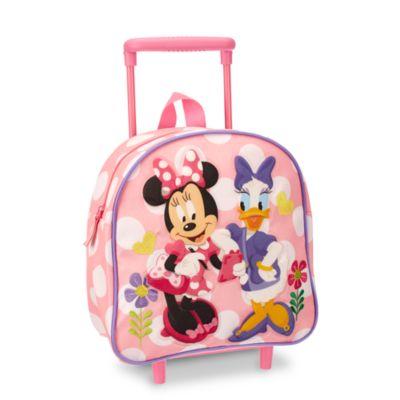 Valise à roulettes Minnie Mouse pour enfants