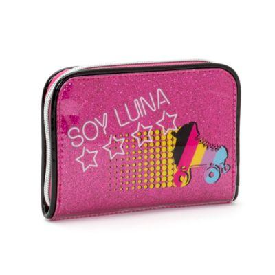 Portefeuille Soy Luna à fermeture éclair sur le pourtour