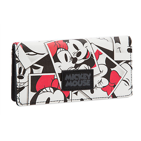 Cartera de Mickey y Minnie Mouse