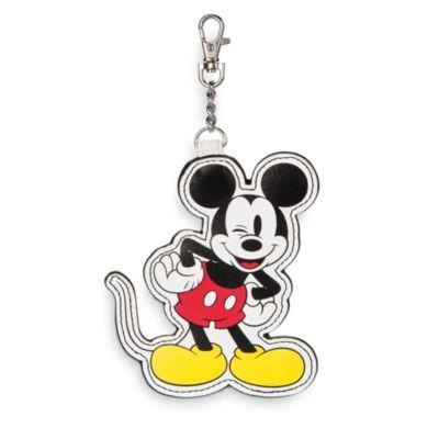 Bolso de mano de piel sintética de Mickey y Minnie
