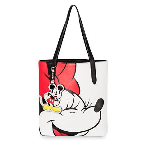 Micky und Minnie – Kunstleder-Henkeltasche
