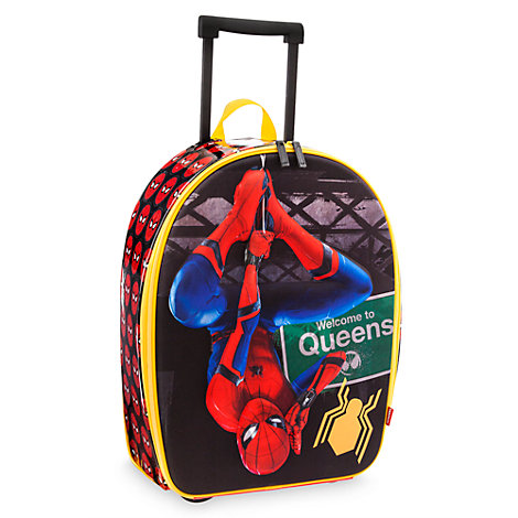 Spider-Man Homecoming Rolling Luggage