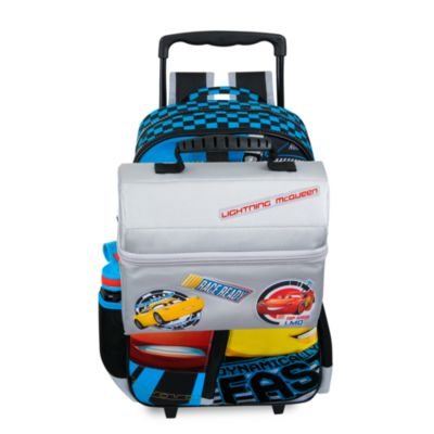Disney Pixar Cars 3 Backpack Trolley