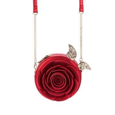 Bolso bandolera de la rosa de La Bella y la Bestia