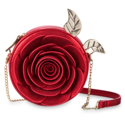 Beauty and the Beast Rose Crossbody Bag