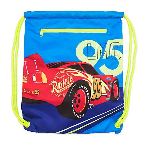Lightning McQueen Swim Bag