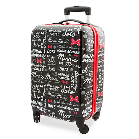Minnie Rocks the Dots Rolling Luggage