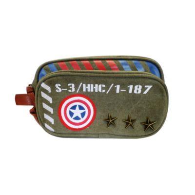 Captain America necessär med militärmotiv