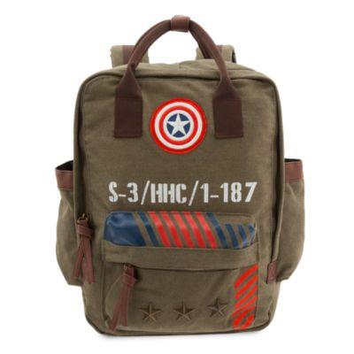 Captain America ryggsäck med militärmotiv