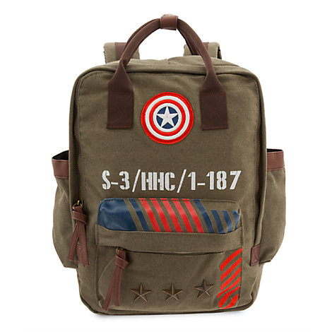 Captain America Military Range Backpack