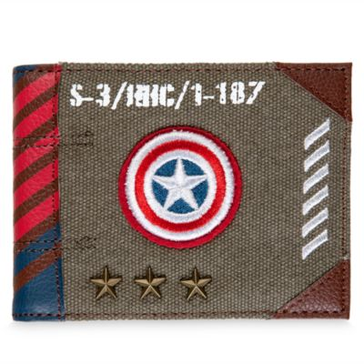 Captain America Military Range Wallet