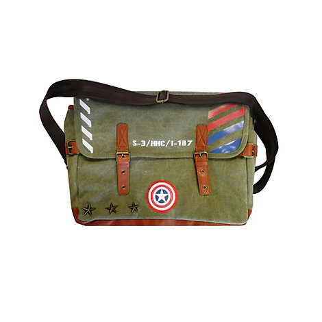 Sacoche style militaire Captain America