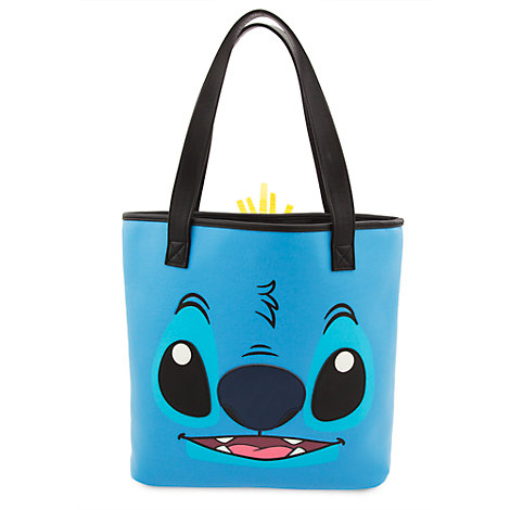 Stitch and Scrump Tote Bag by Loungefly