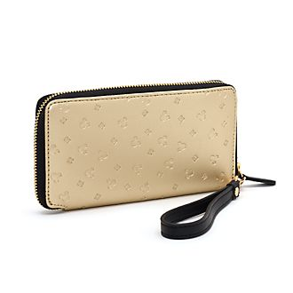 Disney Store Mickey Mouse Black and Gold Wallet