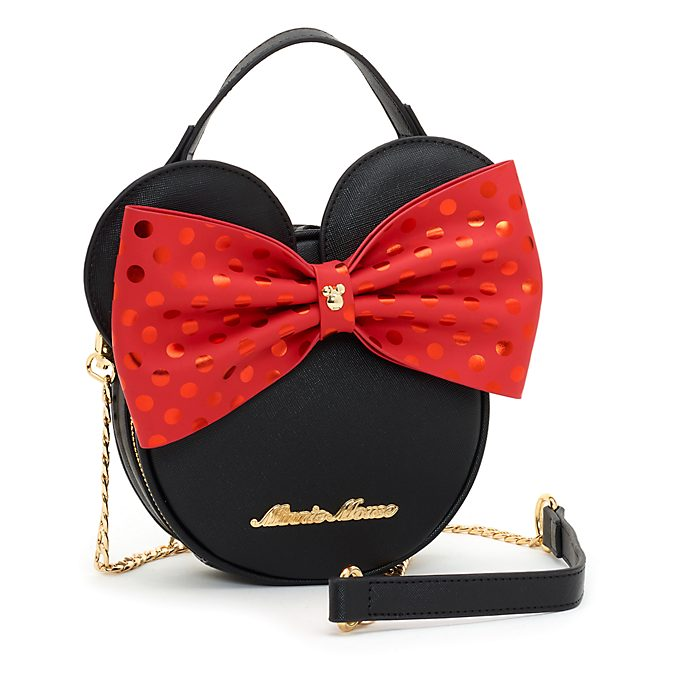 Disney Store Minnie Mouse Bow Crossbody Bag