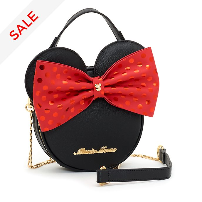 Disney Store Minnie Mouse Bow Crossbody Bag