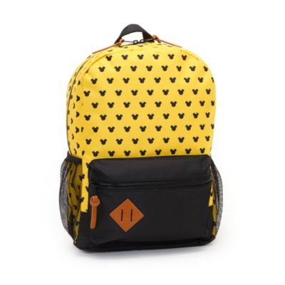 Disney Store Mickey Mouse Yellow Backpack