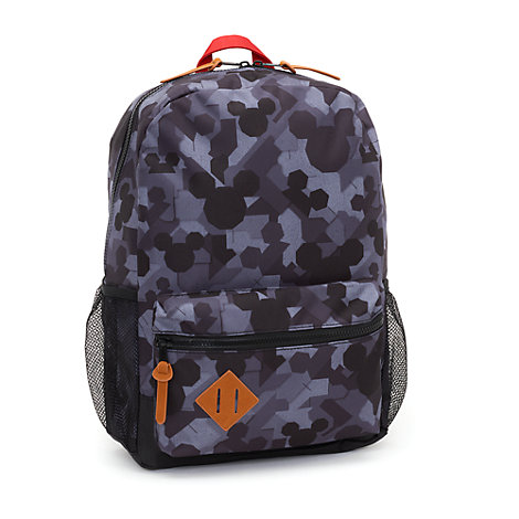 Disney Store Mickey Mouse Grey Backpack