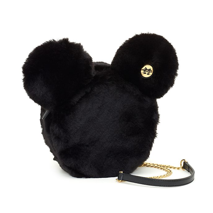 Disney Store Mickey Mouse Mouse Fluffy Crossbody Bag