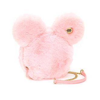 Disney Store Minnie Mouse Fluffy Crossbody Bag