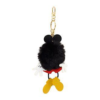Disney Store Mickey Mouse Pom-Pom Keyring