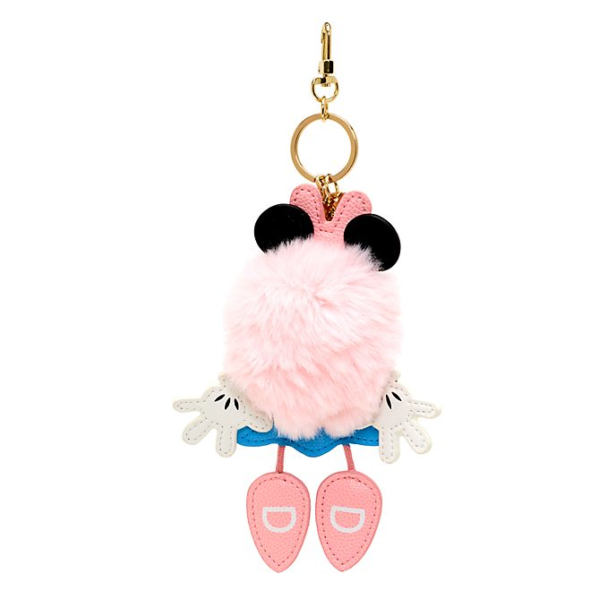 Disney Store Minnie Mouse Pom-Pom Keyring