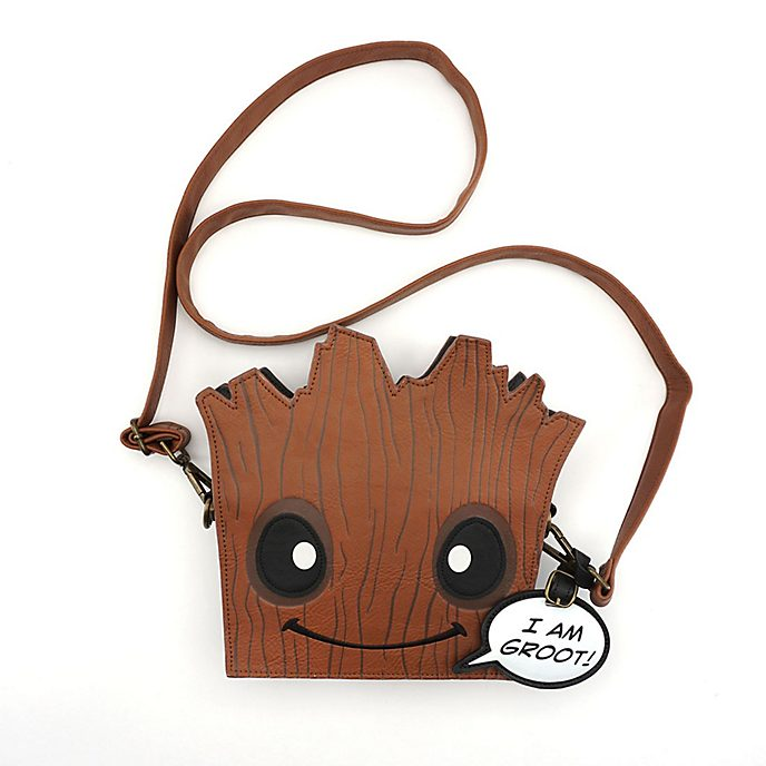 Loungefly Groot Face Cross Body Bag, Guardians of the Galaxy
