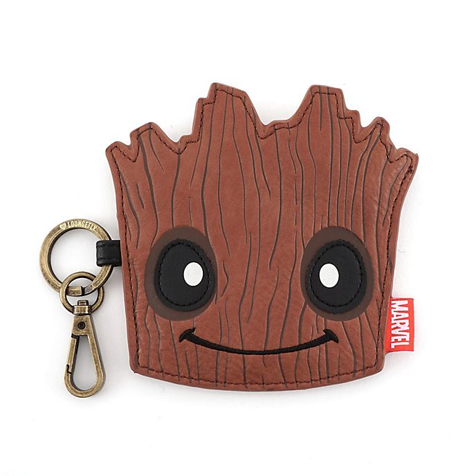 Loungefly Groot Face Coin Purse, Guardians of the Galaxy