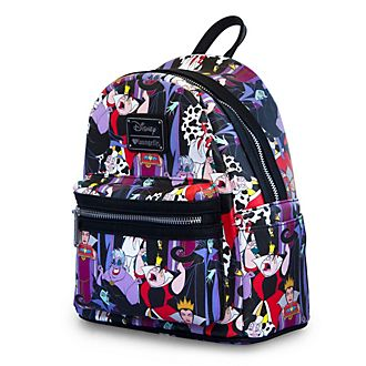 Loungefly mini zaino Cattivi Disney