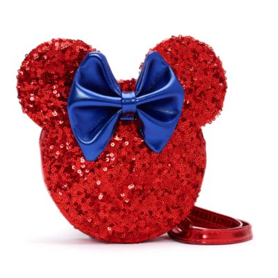 Sac Minnie Mouse à bandoulière avec sequins