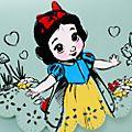 Disney Store Sac à bandoulière Blanche Neige, Disney Animators