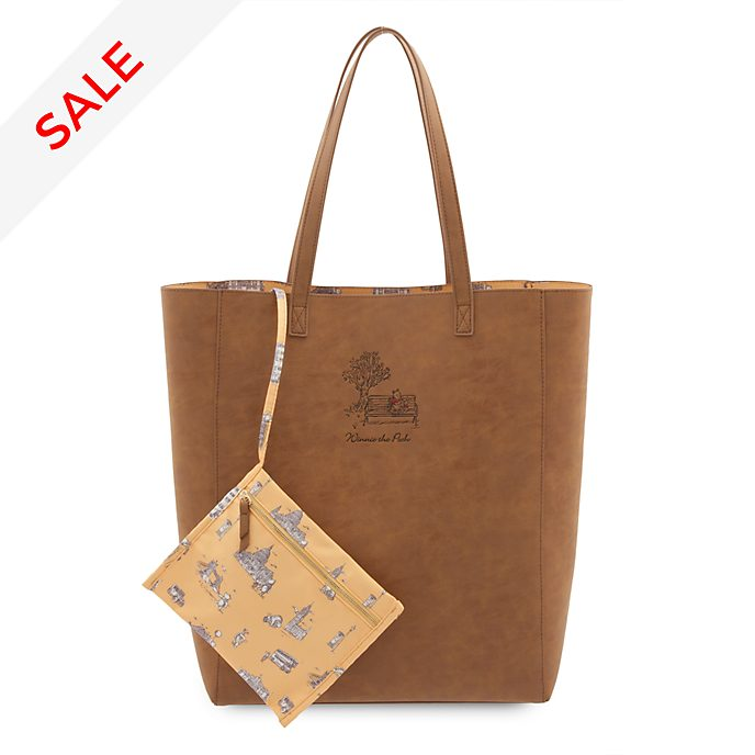 Disney Store Winnie The Pooh Tote Bag, Christopher Robin