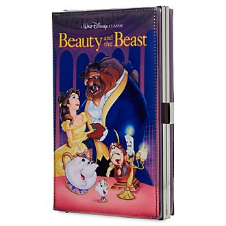 Bolso clutch VHS La Bella y la Bestia, Oh My Disney, Disney Store
