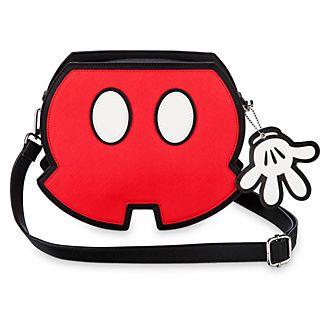 Bolso bandolera con los pantalones cortos de Mickey Mouse de Loungfly