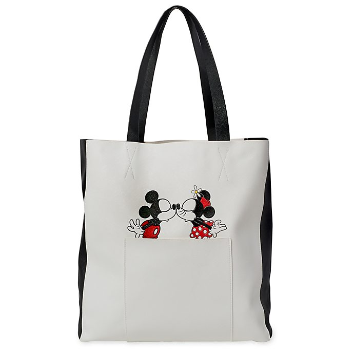 Disney Store Mickey and Minnie Mouse Tote Bag