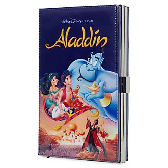 Disney Store Oh My Disney Aladdin VHS Clutch Bag