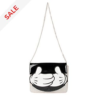 Danielle Nicole Mickey Mouse Hands Clutch Bag
