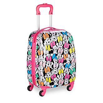 Disney Store Minnie Mouse Small Rolling Luggage