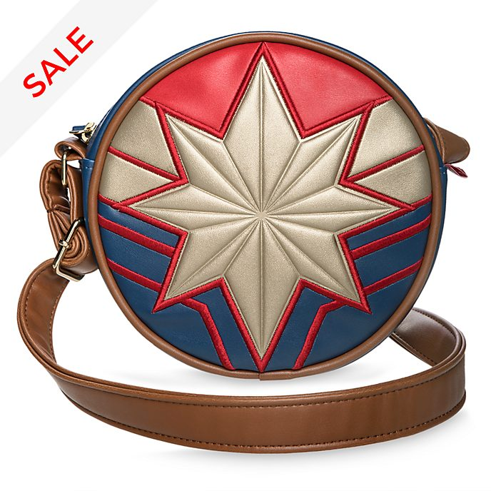 Disney Store Captain Marvel Crossbody Bag