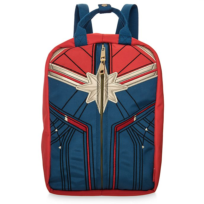 Disney Store Captain Marvel Reversible Backpack