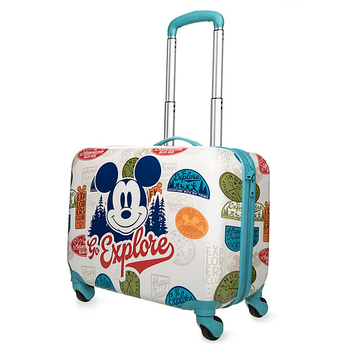 Disney Store Mickey Mouse Rolling Luggage