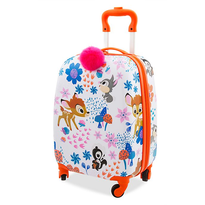 Disney Store Bambi Furrytale Friends Rolling Luggage