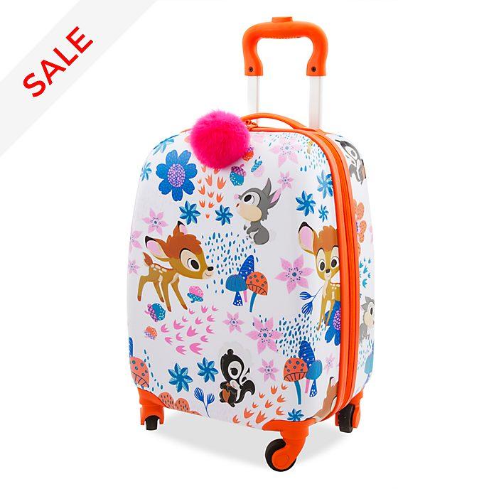 Disney Store Bambi Furrytale Friends Rolling Luggage