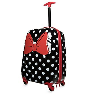 Disney Store Minnie Rocks the Dots Rolling Luggage