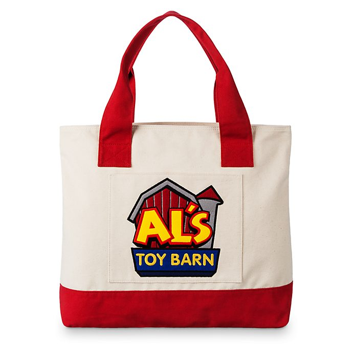 Disney Store Al's Toy Barn Tote Bag