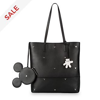 Disney Store Mickey Mouse Leather Hand Tote